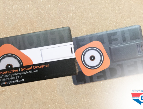 Graphic Design / Branding: Liedel Designs USB Take-Aways